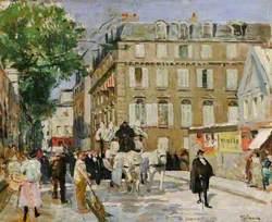 A Parisian Funeral