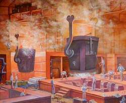 Siemens Open Hearth, Sheffield, No. 1 Melting Shop (1917–1968)