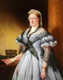 Lady Brown (1813–1881), Wife of Sir John Brown