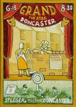 Grand Theatre, Doncaster, Advertisement