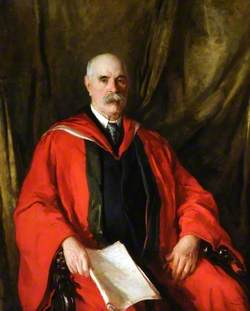 Alderman Robert Styring, Lord Mayor of Sheffield (1906)