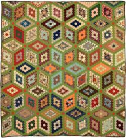 Mosaic Diamonds Quilt