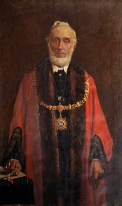 Alderman Thomas Manchip, JP, Mayor (1891–1893)