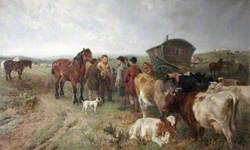 Gypsies with Cattle and Horses