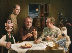Supper at Aardman