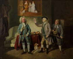 Shuter, Beard, and Dunstall in 'Love in a Village' by Isaac Bickerstaffe, Covent Garden, 1762