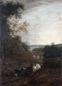 Landscape with a Bridge and a Winding River