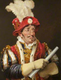 George Frederick Cooke as Gloucester in 'Richard III' by William Shakespeare