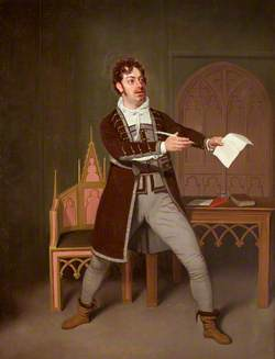 Charles Farley as Francisco in 'A Tale of Mystery' by Thomas Holcroft