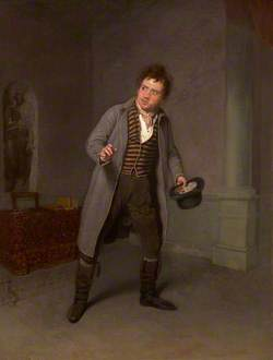 John Emery as Robert Tyke in 'The School of Reform' by Thomas Morton