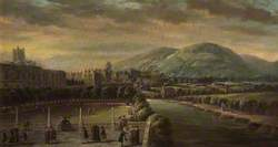Lower Assembly Rooms from North Parade, Bath,  c.1760