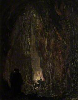 White Spot Cave by the Reservoir at Cheddar Gorge