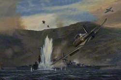 Skua and 'Scharnhorst'