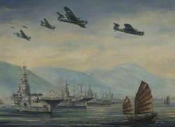 Hong Kong Harbour, 16 September 1945