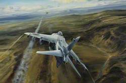 Air Strike over West Falklands