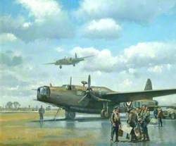 Wellington on Airfield