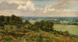 View from Cooper's Hill, Surrey