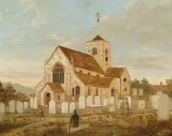 St Martin's Medieval Church, Dorking, Surrey