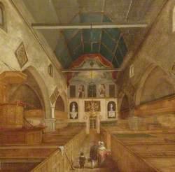 St Martin's Medieval Nave, Dorking, Surrey