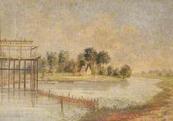 River Thames with Fish Weir