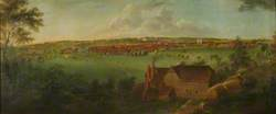Panorama of Farnham, Surrey