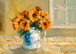 Pot of Marigolds