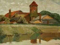 The Oil Mills, Thames Lock
