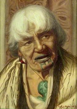 Portrait of a Māori Woman