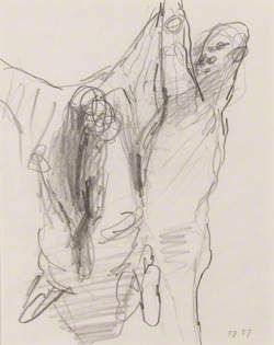 Study for 'Meat Porters'
