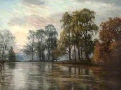 Evening Lake Scene