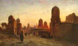 Tombs of the Khedives in Old Cairo