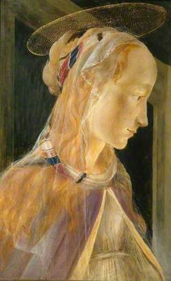 Head of the Magdalene