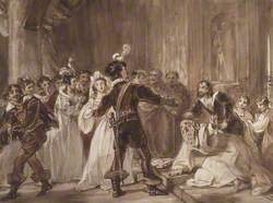 The Marriage of Katherina and Petruchio, from 'The Taming of the Shrew'