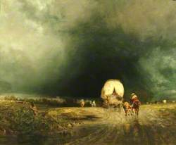 Travellers in a Storm, Approach to Winchester