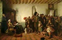 Licensing the Beggars in Spain
