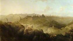 Pilgrims Approaching Jerusalem