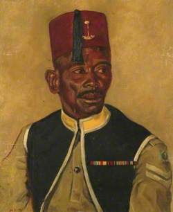 Audu Doso of the Nigeria Military Forces
