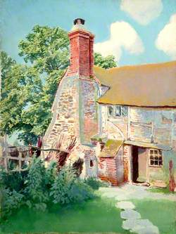 Exterior Chimney of Cottage at Mayes Green, Surrey