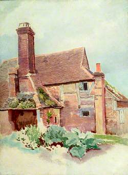 Exterior View of Cottage at Outwood, Surrey