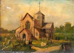 Dorking Church and Churchyard, Surrey
