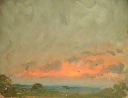 Lowering Sky on Landscape
