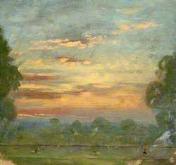Landscape and Sunset