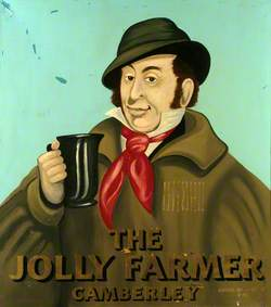 Signboard from 'The Jolly Farmer' Pub, Side 1