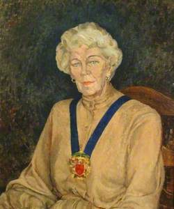 Councillor Mrs M. D. Wilks, First Lady Chair of Tandridge District Council (1977–1978)