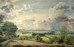 Morning in June, the Vale of Dedham, Essex