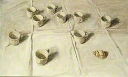 White Cups and Shell