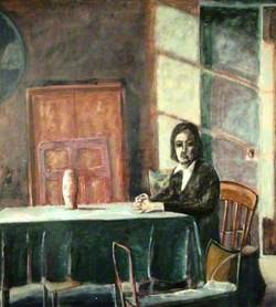 The Room (A Lady Seated at a Table)