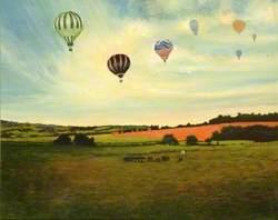 Balloons over Longdown