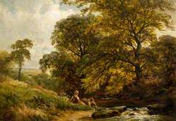 Children by River