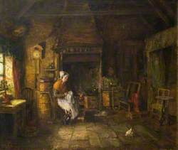 Interior of Burnside Cottage